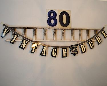 80 Birthday - Bob