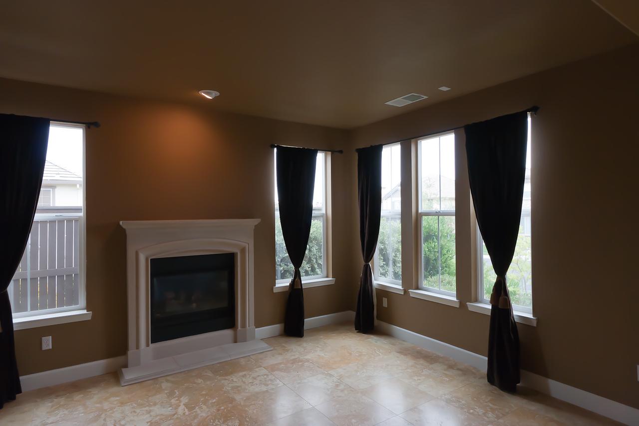 Living room, facing South