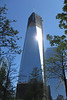 1WTC will be the tallest building in the USA when finished (if you count the spire on top).