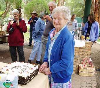 95th birthday party weekend (Australia)