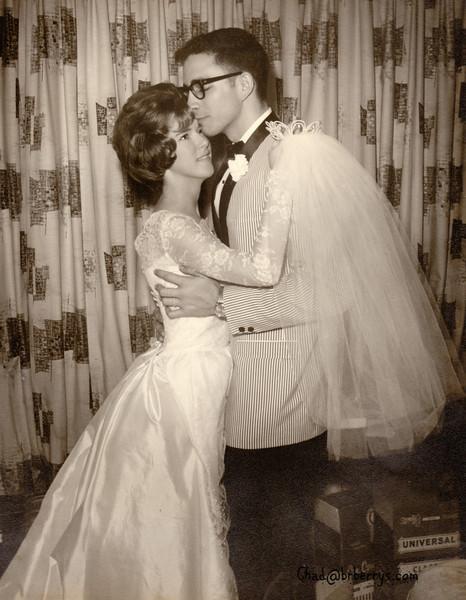 Joyce and Kenny Wedding-The couple