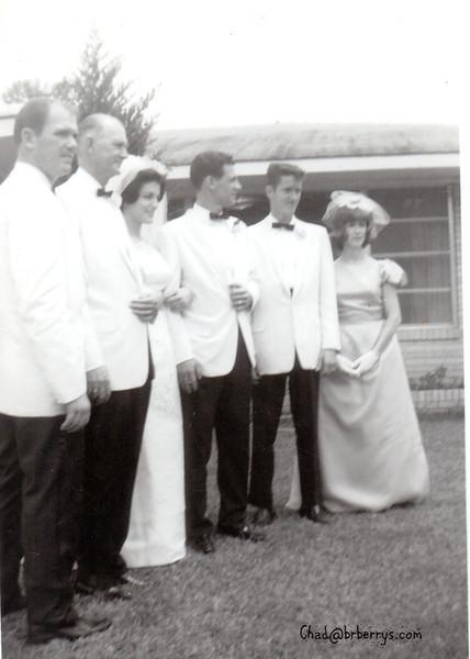 Aunt Judy's Wedding- Bill, NT, Judy, Henry, Royce, Joyce