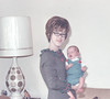 Thanksgiving Joyce and Taylor 11-24-66 13 days old