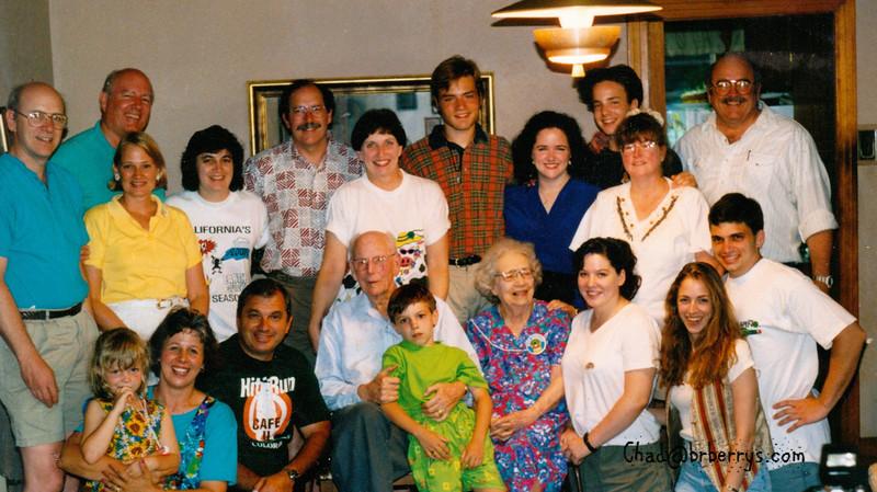 Lamothe Family at Gran and Papa