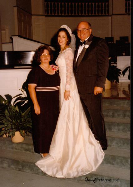 Keli and Chad's Wedding- Mom and Dad