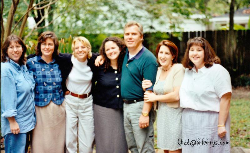 Judy's Wedding Reception-Laura, Belinda, Donna, Judy, Kelly, Sharon, Wendy