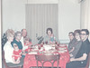 Thanksgiving 11-24-1966 Judy Winnie Daddy Lorie (4 12 months) and Gang
