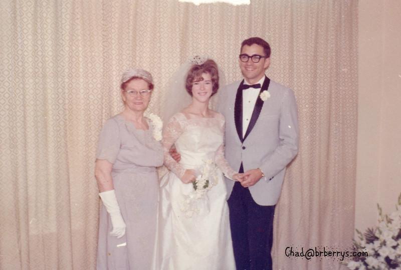 Joyce and Kenny Wedding- Momma Winnie and Joyce and Kenny