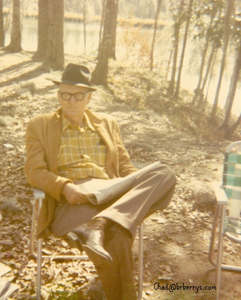 NT on camping trip 1971