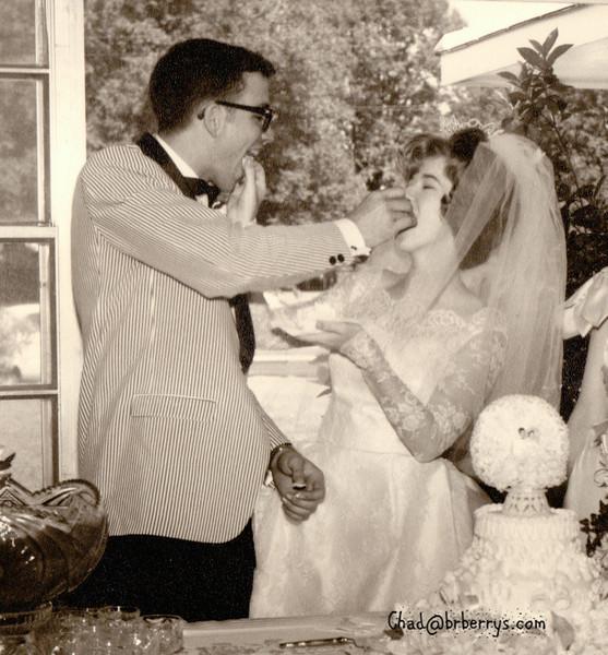 Joyce and Kenny Wedding-The Cake