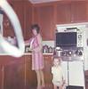Joyce & Judy in kitchen 1971