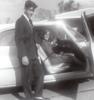 Royce opens car door for Joyce