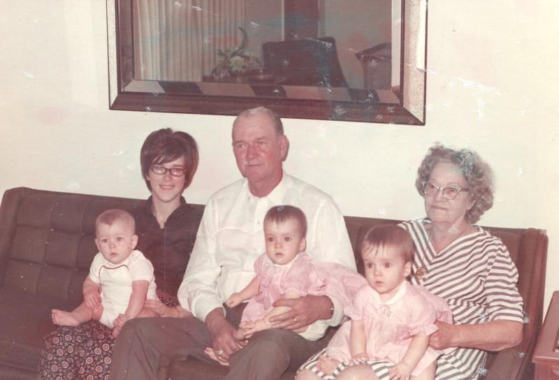 Joyce Taylor PaPa Lorrie Grandma Thompson Winnie