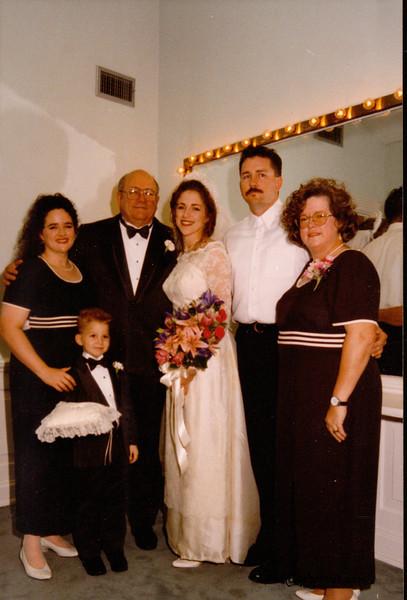 Keli's Wedding- Judy Dad Keli, Taylor, Mom
