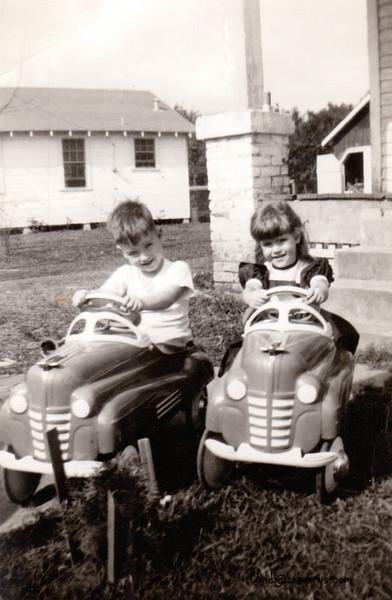 Royce and Joyce on Tractors Chippewa