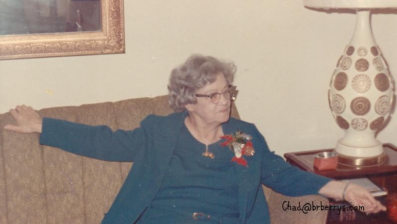 Grandma Thompson 1966 Thnksgiv