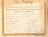 Joyce and Kenny Wedding Certificate 1965