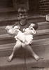 Bill holds babes Joyce and Royce-Houston
