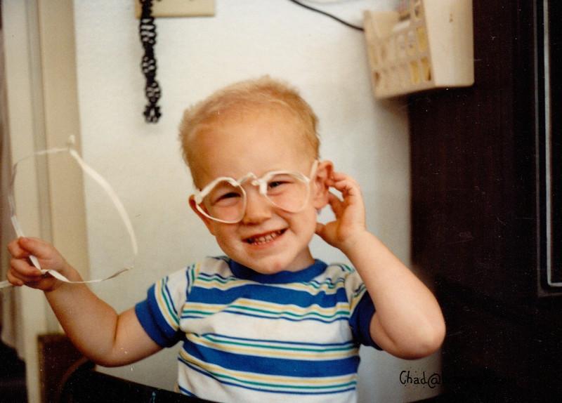 Devin in glasses