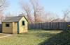 A Christmas Story house-backyard