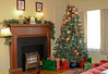 A Christmas Story house-living room