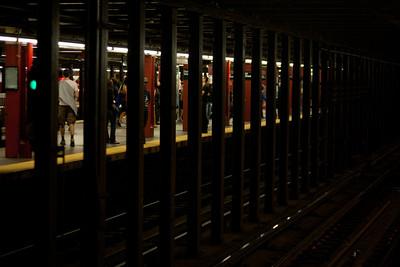 Subway coolness.