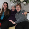 Laura (L) with her Mom, Sarah (Center) with Sarah's sister Rebecca Haynes-Bordas (R)