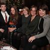 Cousins Ethan Knechel, Laura Ann Sweitzer, Frances Knechel, Erica Lynn Sweitzer and Ellen Knechel at the Comfort Inn, Auburn, Indiana.