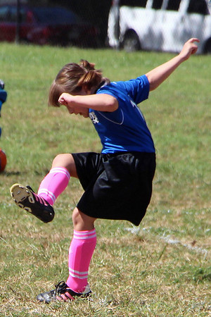The Girl of Steel- Katherine's Soccer Fall 2013