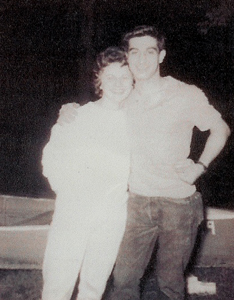 Mom & Dad in 1961. They were just dating.  Mom was 18 and Dad 19 years old.