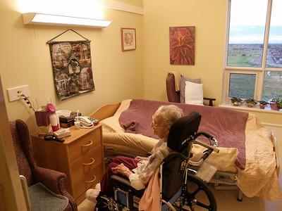 Nana's cozy quarters