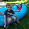 Backyard lazing with Jagger