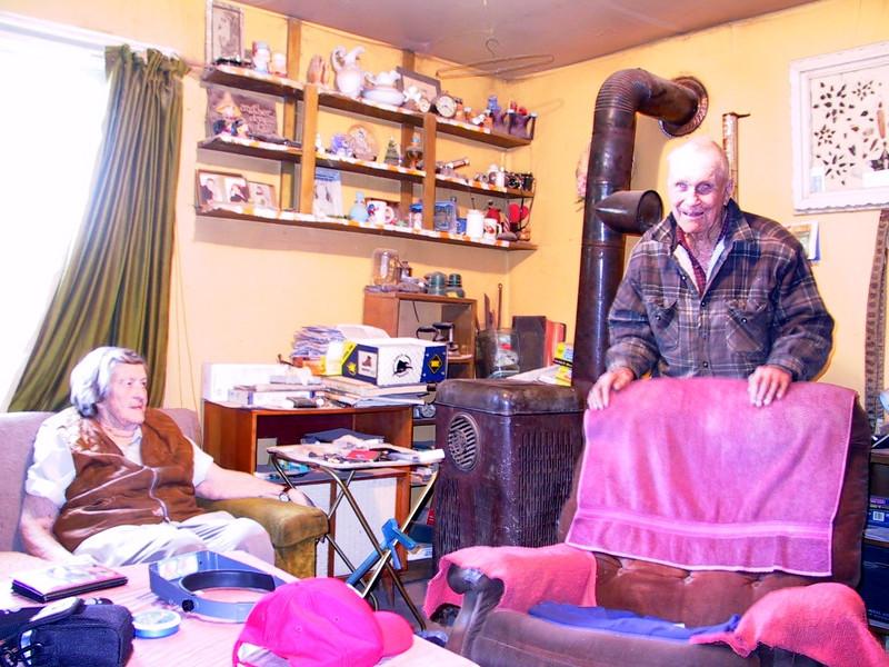 A visit with Grandma & Grandpa