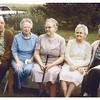 Warren & Josephine, Blanche, Edna & Clarence<br /> 1973    Cheryl's first birthday  at Maurice's
