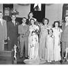 On left - Frank & Vernon - far right - Howard<br /> On right - Else (Vernon's wife)<br /> Flower girl - Kathryn (daughter of Howard)