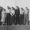 John & Grace  1947<br /> Lawrence, Howard, Jack, Vernon, Frank, Alice