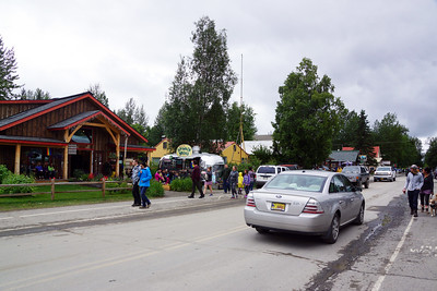 Talkeetna was quaint and crowded. It's worth a visit, though it was misleading distant from our Princess Mt. McKinley Lodge.