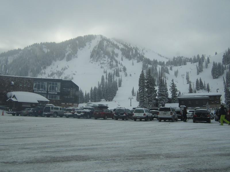 Collins Base at Alta!