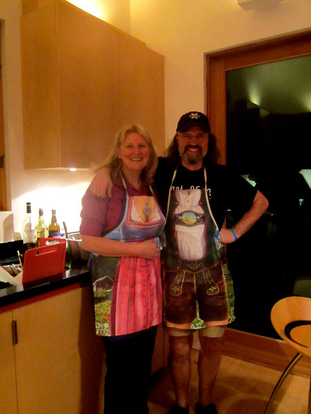The Bavarian inn keepers!!