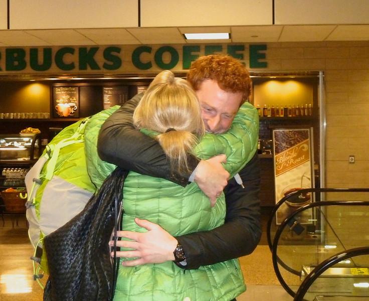 "My ""little boy"" is home again!! :-)"