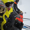 Niel and Paul rearing to go....more powder awaits!!