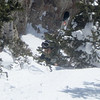 Look for Niel carrying his skis up to Eddie's High Nowhere for an epic run with Paul from the top of Alta!!