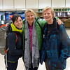 Paul ( Annette's German nephew) and Bethany (Miriam's sister) arriving from Whistler and Victoria respectively!