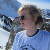 Paul at the top of Alta after hiking up to Eddie's High NoWhere with Niel!