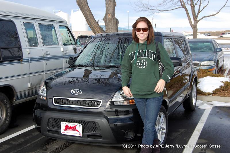 Amanda Gossel and here new KIA