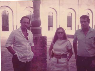 Gabriel, Hilda e Joel Queiroz em Recife