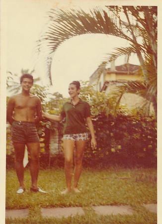 Ducha e Andre no Guaruja (1960s)