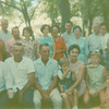 "Family gathering at Breckenridge park about July 1965.  A story we heard was that passengers on  the small railroad that circled the part had been robbed on that day. So later I looked up the story and found :""She told me that when she was in her early teens, a couple of guys rented some horses from a nearby stable, dressed themselves as cowboys, rode over to some spot good for an ambush and robbed the train, took all the passengers valuables and rode off. The passengers thought it was a stunt, a show, a part of the train ride""  ..that our family had heard before we left the park.  Some had intended to ride if time : )"