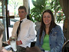 Mark and Annaliese at my graduation brunch.