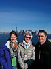 Ella, Merav, and Daniel Niv on Liberty Island